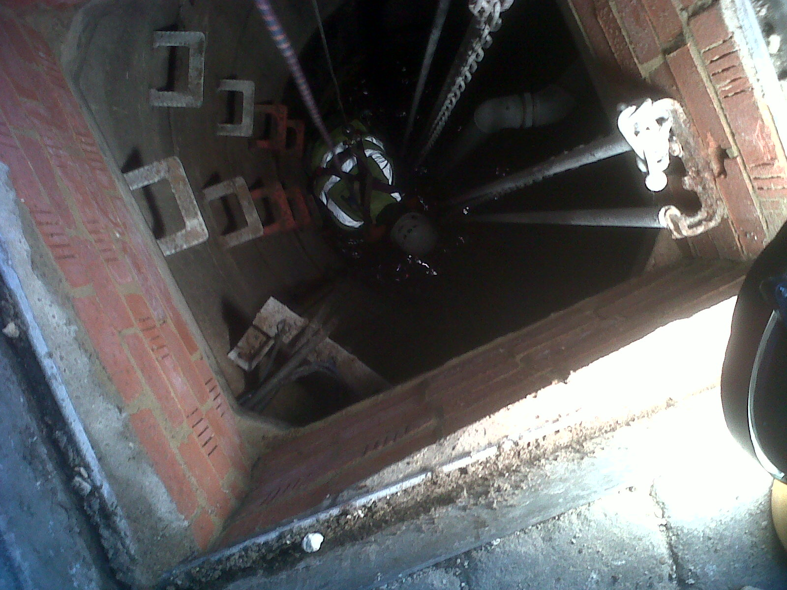 confined space drain repairs